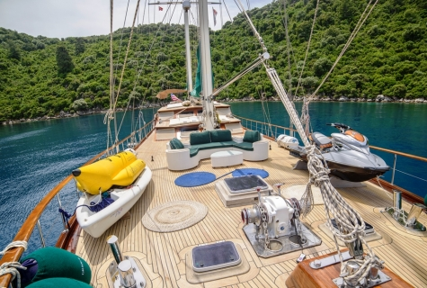 Grande Mare deck