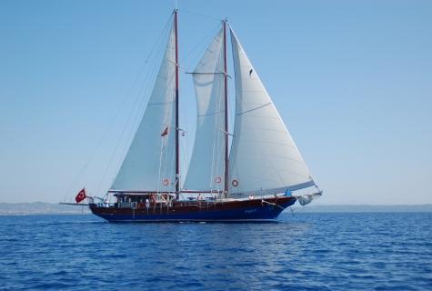 Kugu sailing