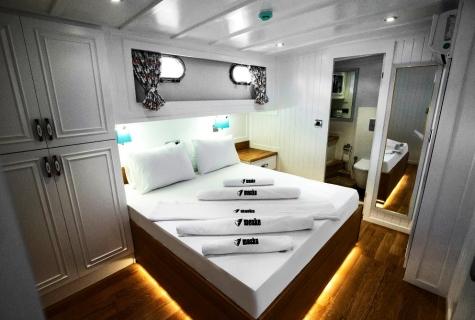 Maske double cabin