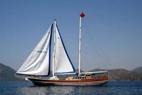 Prenses Selin sailing