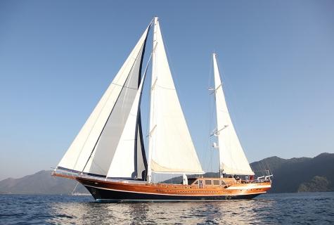 Gulet Queen of Datça Sailing