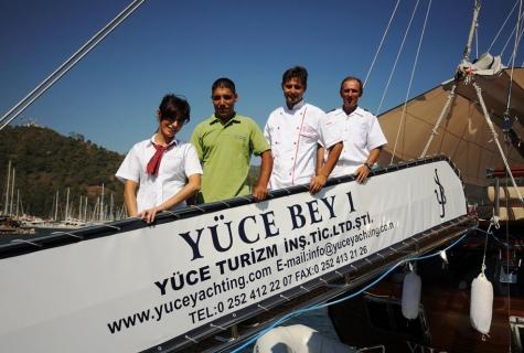Yuce Bey crew
