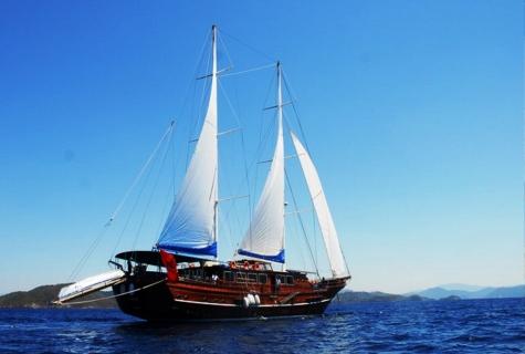 A candan sailing