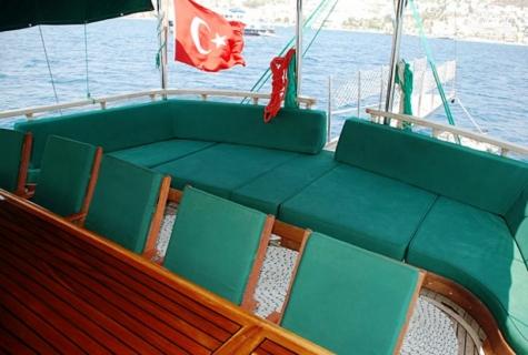 Cozy sofa deck