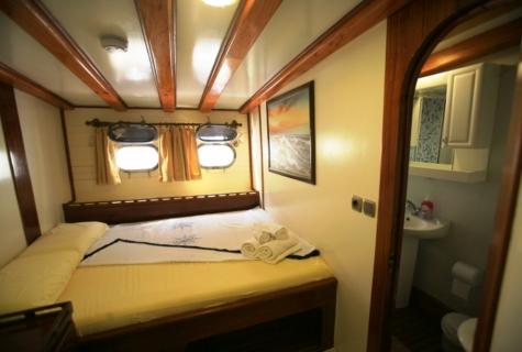 Gulet Aegean Clipper cabin (25)