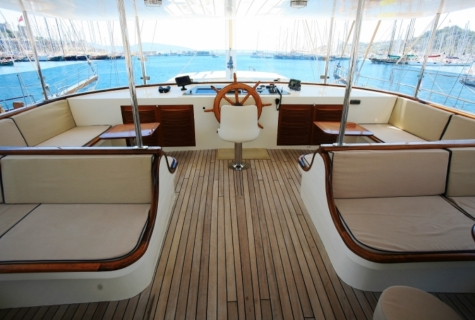 Gulet Aegean Clipper deck (10)