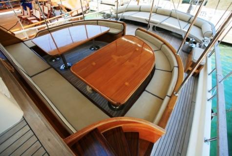 Gulet Aegean Clipper deck (11)