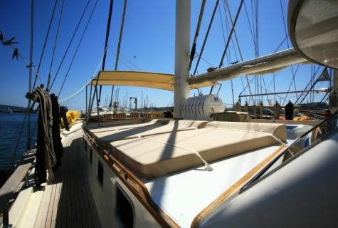 Gulet Aegean Clipper deck (14)