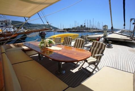 Gulet Aegean Clipper deck (16)