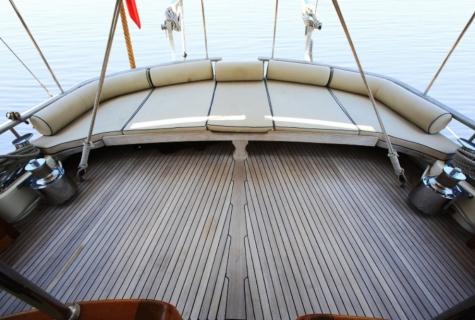Gulet Aegean Clipper deck (17)