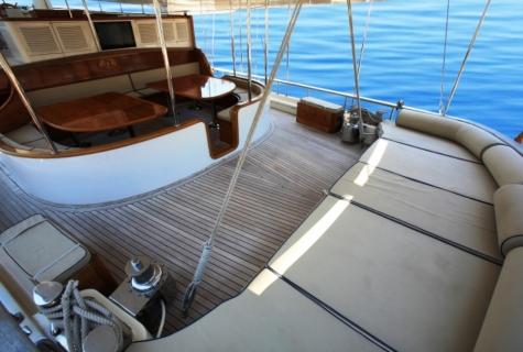 Gulet Aegean Clipper deck (19)