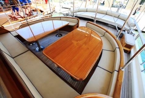 Gulet Aegean Clipper deck (20)