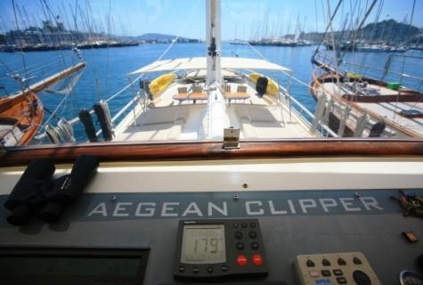 Gulet Aegean Clipper deck (5)