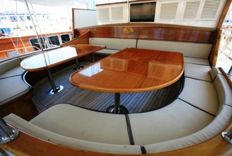 Gulet Aegean Clipper deck (6)