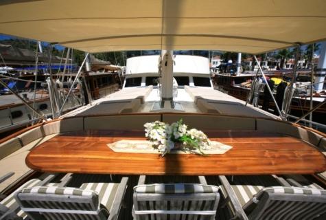 Gulet Aegean Clipper deck (7)