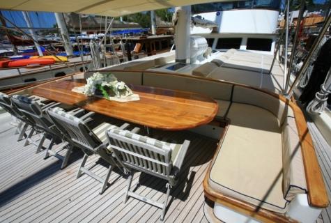 Gulet Aegean Clipper deck (8)