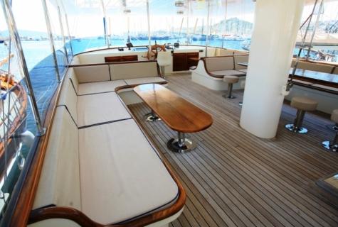Gulet Aegean Clipper deck (9)