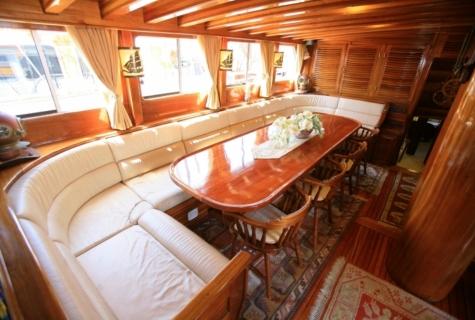 Gulet Aegean Clipper salon (12)