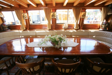 Gulet Aegean Clipper salon (13)