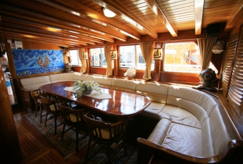 Gulet Aegean Clipper salon (16)