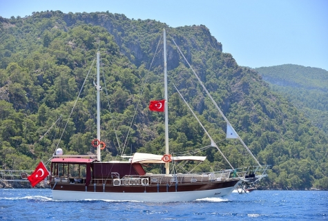 Asli Nil Gulet is cruising to next destination