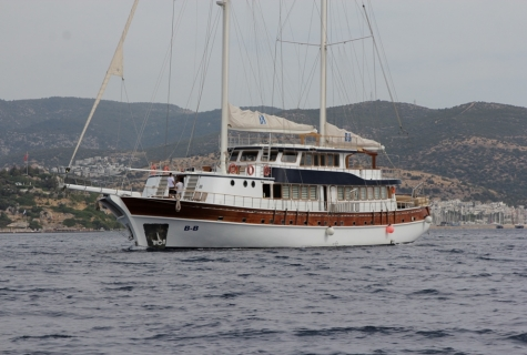 BB gulet sailing