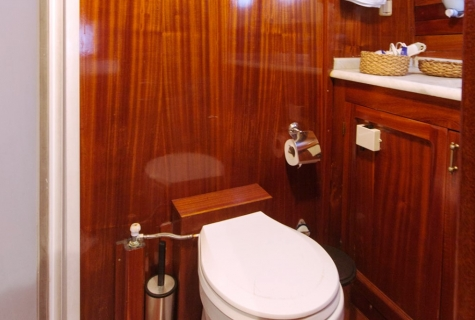 Blue Cruise Bathroom