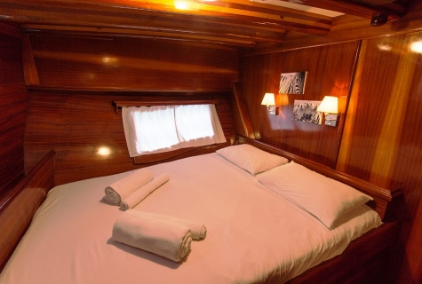 Blue Cruise Double Cabin Example