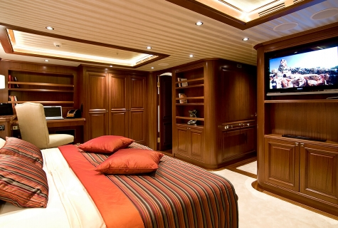 Aft Cabin on Clear Eyes