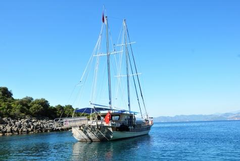Faralya sea