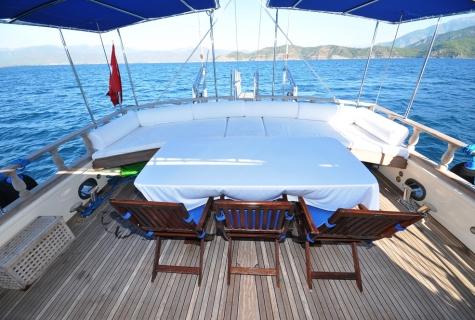 Faralya table deck