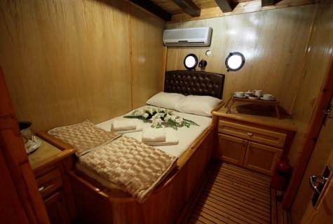 Harmonia gulet cabin 1