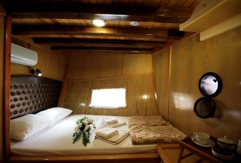 Harmonia gulet cabin