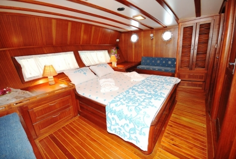 Gulet Hasay cabin  5