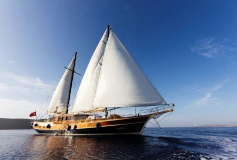 Karina sailing