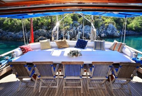 Kayhan 11 deck table