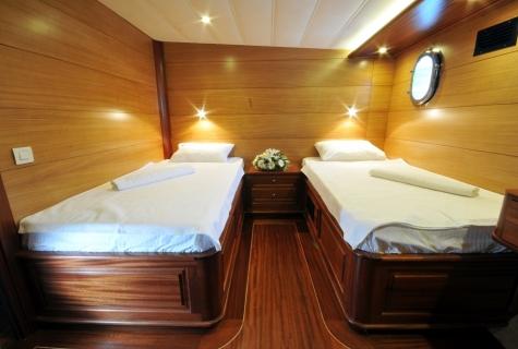 Kayhan 4 cabin twin