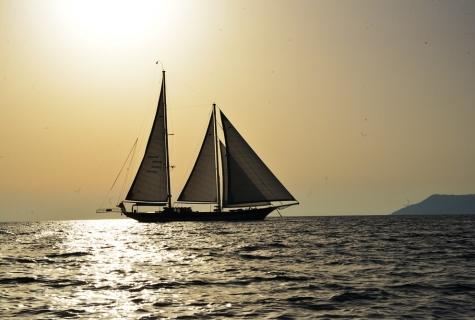 Kayhan Kaptan gulet sailing
