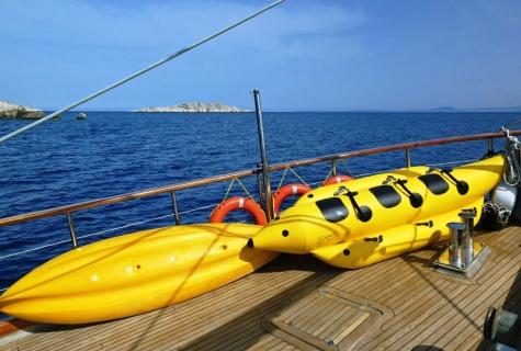 Mehmet Bugra Banana ride