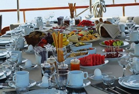 Mehmet Bugra Breakfast full table