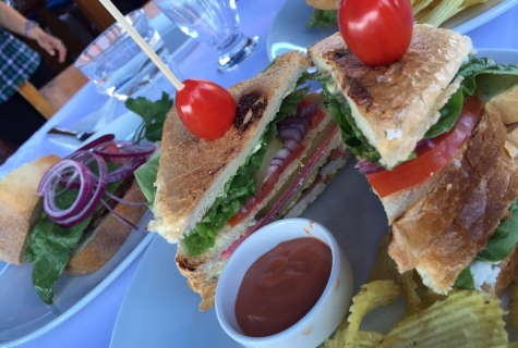 Club Sandwiches Snack