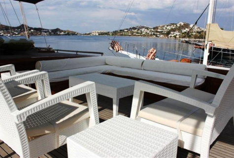 Relax area deck