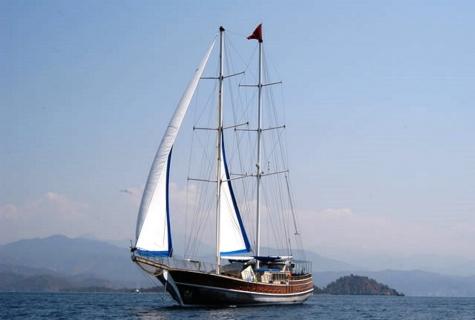 Prenses Selin sails