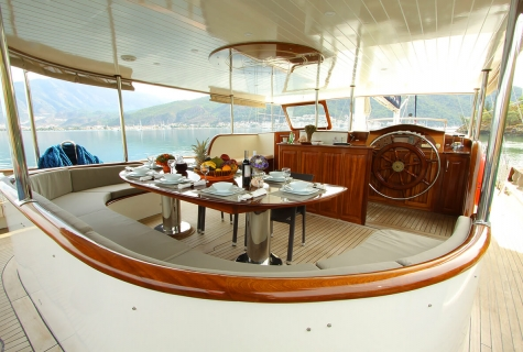 Aft Deck on Queen Lila
