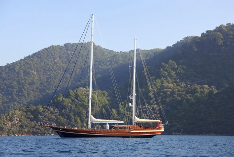 Queen of Datça Side View