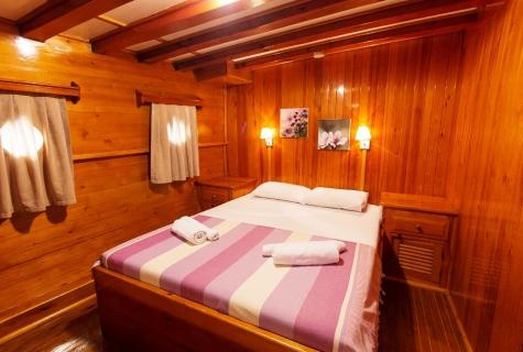 Salmakis Double cabin on Salmakis