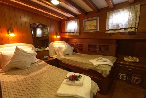 Gulet Serenad twin cabin (2)