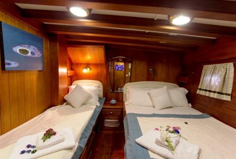 Gulet Serenad twin cabin (3)