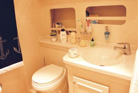 Master Cabin Bathroom