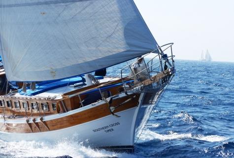 Southern Cross Timer sailing
